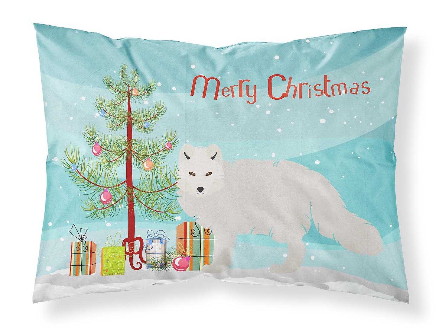 Fox Arctic Blanc Noël Tissu Taie D'oreiller Standard OiPXkuZT