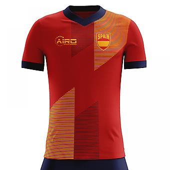 2018-2019 Spain Home Concept Football Shirt (Kids)