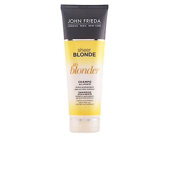 John Frieda Sheer Blonde Champu Aclarante Cabellos Rubios 250ml New