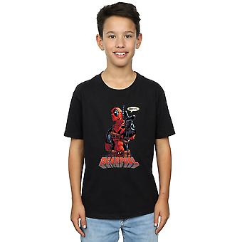 Marvel Deadpool ragazzi Ehi tu t-shirt