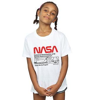 NASA Girls Classic Space Shuttle T-Shirt