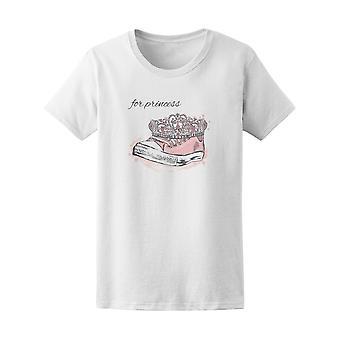 Hipster Tiara de zapatillas de princesa color rosa t - imagen de Shutterstock
