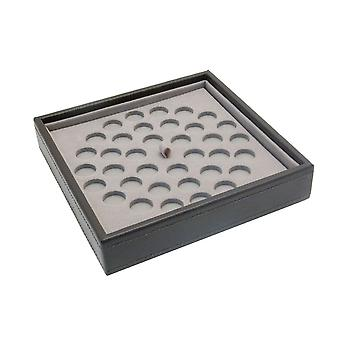 Mink Charm Stacker Jewellery Tray-Bead Sections