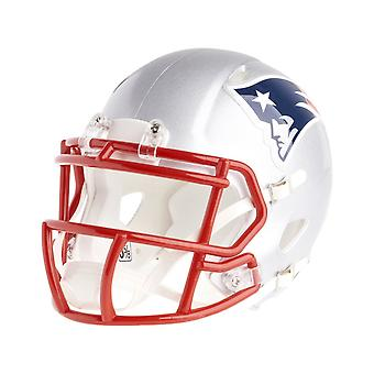 Riddell mini football helmet - NFL New England Patriots speed