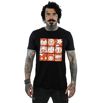 Marvel Men's Kawaii Guardians of the Galaxy Retro T-Shirt
