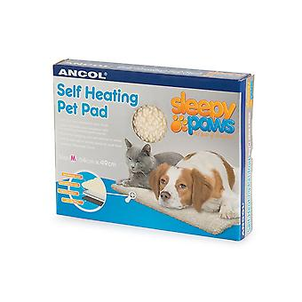 Ancol - Self Heating Pet Pad Cat/Dog Bed - Medium