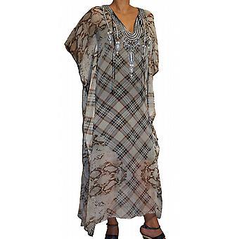 Waooh - Mode - Tunique djellaba silk