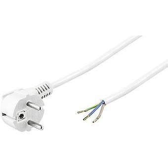 Goobay 93312 nuvarande kabel vit 3 m