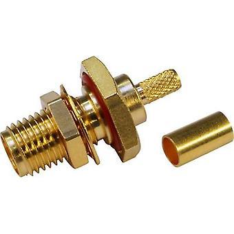 SMA reverse polarity connector Socket, build-in 50 Ω Telegärtner