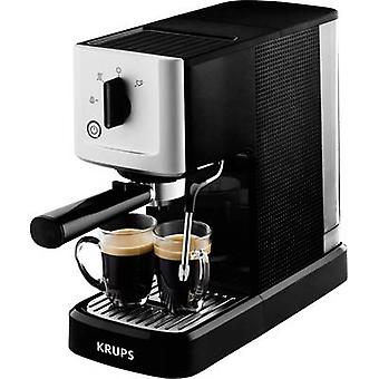 Krups Calvi XP3440 Espresso machine Silver, Black 1460 W incl. frother nozzle