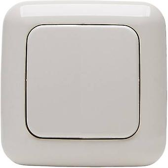 Kopp Free Control 2-channel Wireless wall-mounted switch STANDARD 1/2 Cream-white