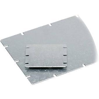 Mounting plate (L x W) 148 mm x 98 mm Steel plate Light grey Fibox MNX MIV 150 1 pc(s)