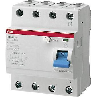 RCCB 4-pin 40 A 0.03 A
