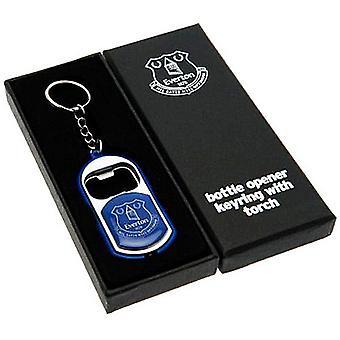 Everton Fc Keyring / Taschenlampe / Flaschenöffner