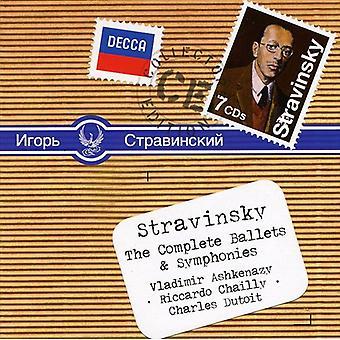 I. Stravinsky - Stravinsky: The Complete Ballets & Symphonies [CD] USA import