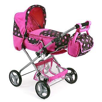 Schicke Combi Puppe Kinderwagen Bambina