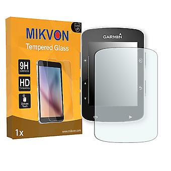 Garmin Edge 520 Screen Protector - Mikvon flexible Tempered Glass 9H (Retail Package with accessories)