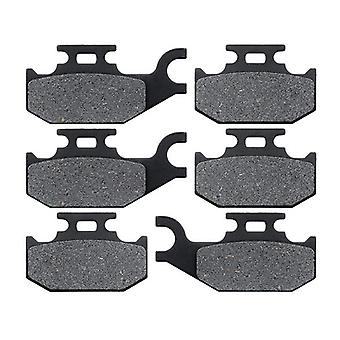 KMG 2007-2011 CAN AM Outlander 500 STD 4X4 Front + Rear Non-Metallic Organic NAO Brake Pads