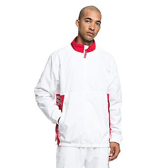 DC White Skate Track Water Resistant Jacket