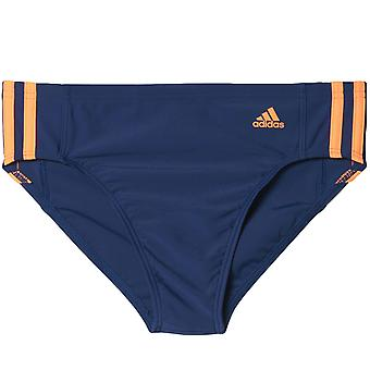 adidas Performance Boys Kids Infinitex EC3S TR Swimming Swim Pool Briefs - Blue