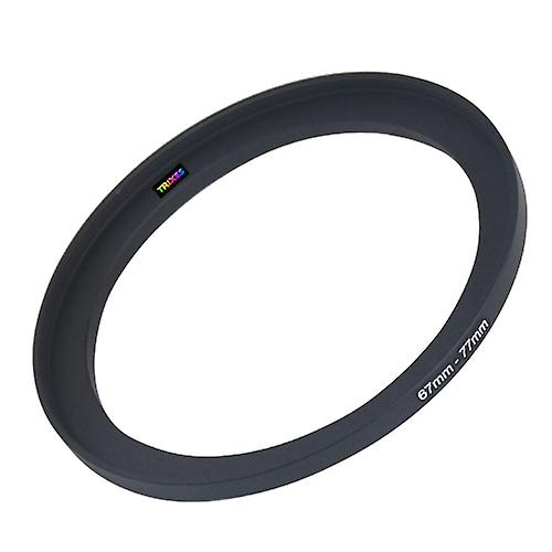 TRIXES 67mm to 77mm 67-77 Stepping Step Up Camera Filter Ring Adapter
