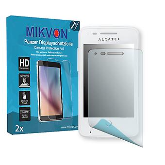 Alcatel One Touch Fire 4012X Screen Protector - Mikvon Armor Screen Protector (Retail Package with accessories)