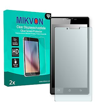 Archos 55 Platinum Screen Protector - Mikvon Clear (Retail Package with accessories)