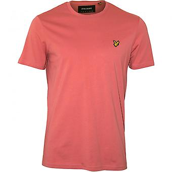Lyle & Scott Classic Crew-Neck T-Shirt, Pink Shadow