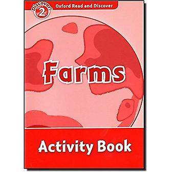 Oxford, leer y descubrir: nivel 2: libro de actividades de granjas