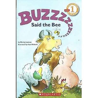 Buzz, la abeja (Cartwheel libros) dijo
