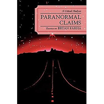 Paranormal Claims: A Critical Analysis