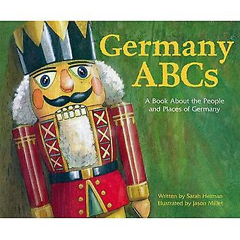 ABCs da Alemanha: Um livro sobre as pessoas e o lugar da Alemanha (país ABCs)
