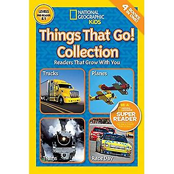 Things That Go Collection (National Geographic Readers: Level Pre1)