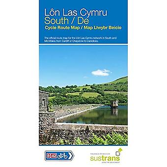Lon Las Cymru South: The official route map for the� Lon Las Cymru network in South and Mid Wales