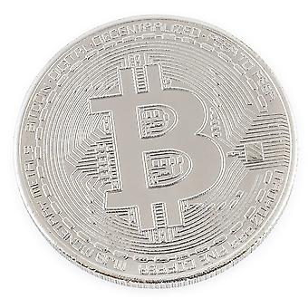 Bitcoin Challenge Coin Nickel Plated Good Luck Souvenir or Golf Ball Marker
