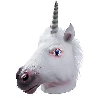 Unicorn Latex Mask For Adults