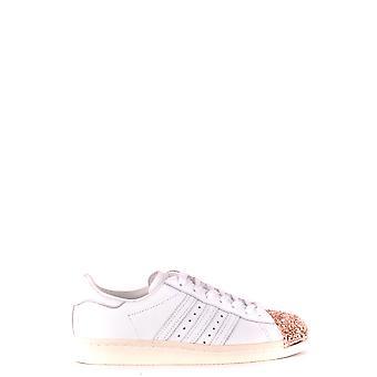 أديداس أحذية جلدية بيضاء