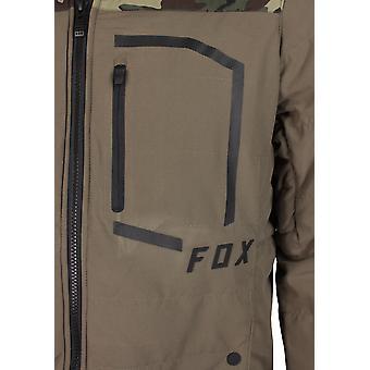 Fox Racing Mens pódio Puffer Jacket - casca/Camo