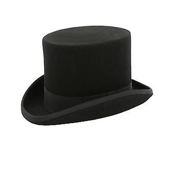 ・ ドベル男の子黒シルクハット 100% ウール古典的な形式的な結婚式