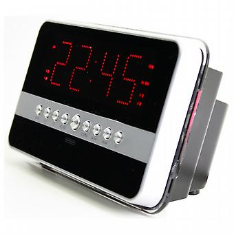 AM/FM clock radio with motion detector.