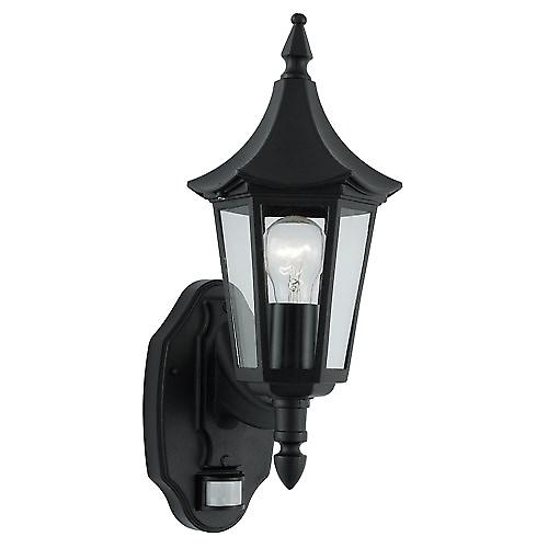 Searchlight 14715 Bel Aire Outdoor Security Wall Light With Par Motion Sensor