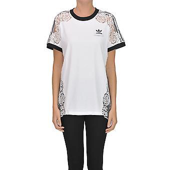 Adidas By Stella Mccartney White Cotton T-shirt
