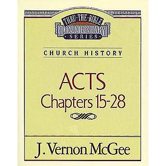 Acts II by J Vernon McGee - 9780785207047 Book
