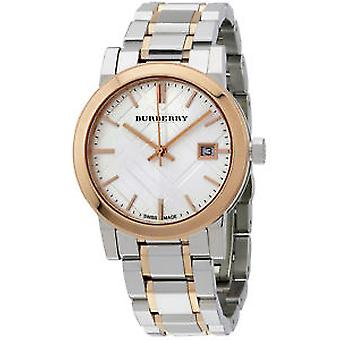 Burberry Women es Bu9105 Large Two Tone Stainless Steel Watch