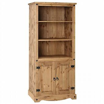 Core Products Corona Pine 2 Door Bookcase