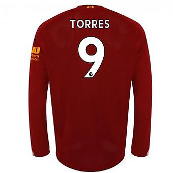 2019-2020 Liverpool Home Long Sleeve Shirt (TORRES 9)