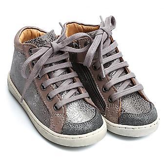 肖庞由庞德阿波斯;Api播放蕾丝拉链脚踝靴,灰尘
