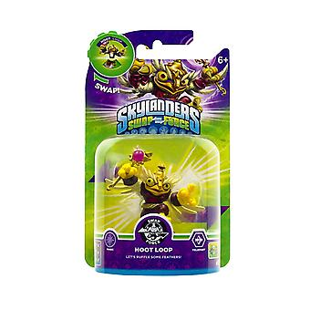 Skylanders Swap Force Swapable Figure Hoot Loop Let's Ruffle Some Feathers!