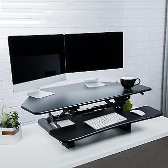 Flexispot M4B stående desk-41 tommers avlukker hjørne desk Riser datamaskin Riser