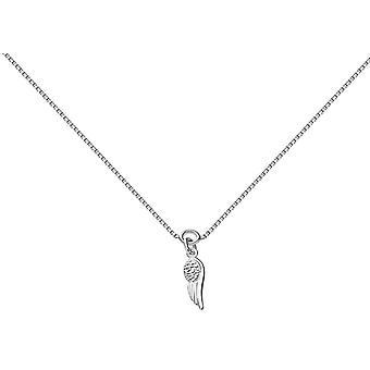 Bella Angel Wing Ankelkæde-sølv